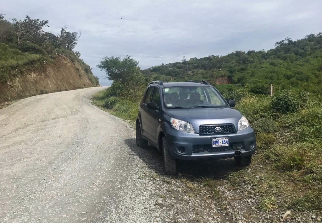 Aquiler coche en Costa Rica